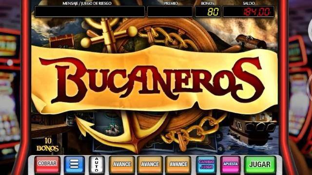 ¿Cómo jugar a la slot Bucaneros con dinero real?