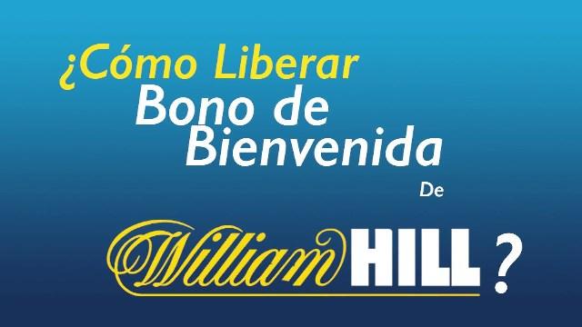 ¿Cómo funciona el bono de bienvenida en William Hill?