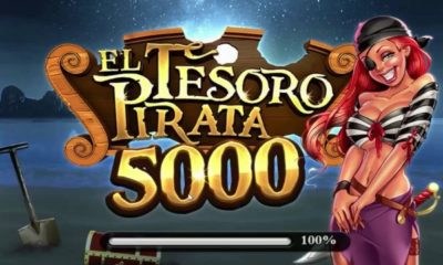 ¿Cómo jugar a la slot El Tesoro Pirata 5000 con dinero real?