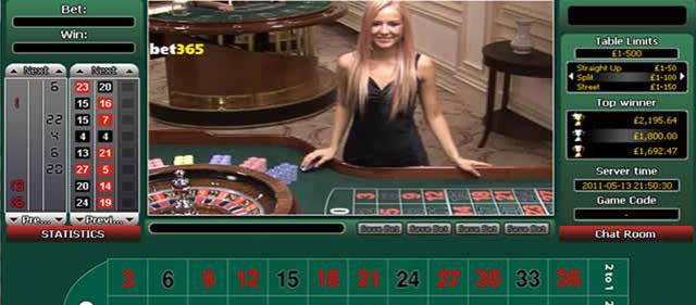 ¿Cómo jugar a la ruleta en vivo de Bet365?