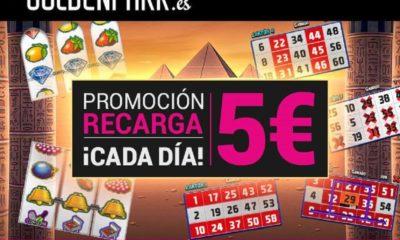 ¿Cómo conseguir los 5 euros gratis de Goldenpark?