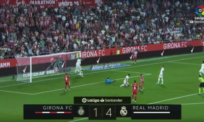 Real Madrid vs Girona La Liga 2019