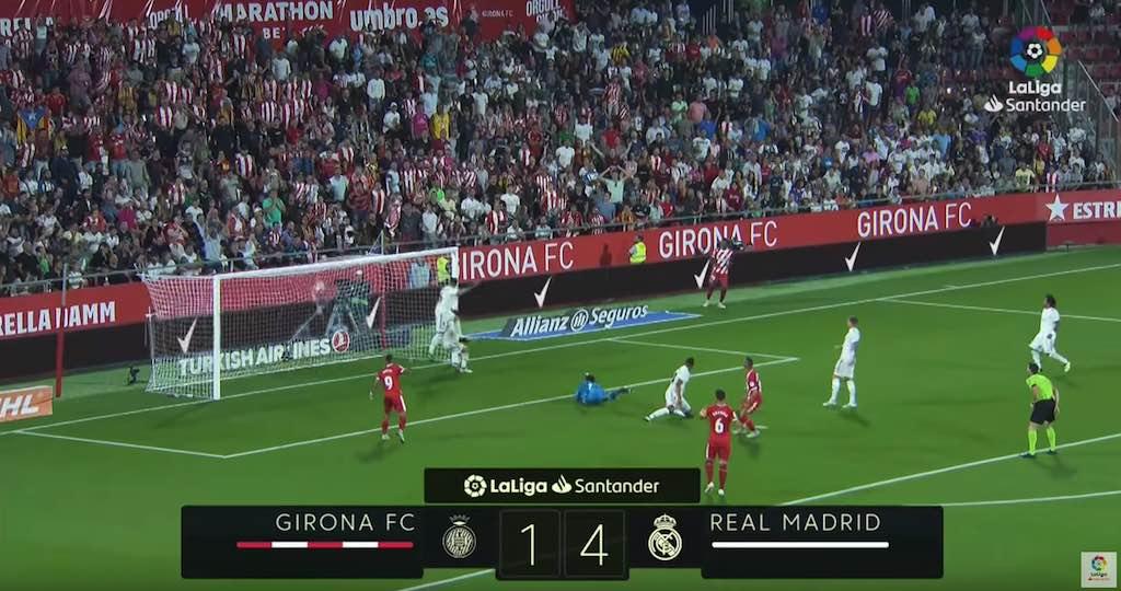 Real Madrid vs Girona La Liga 2019